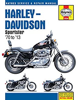harley davidson sportster 70 to 13 haynes service repair manual rh amazon com Haynes Repair Manuals Online Haynes Repair Manuals Mazda