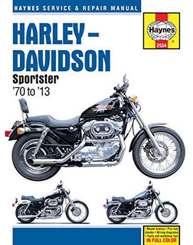 Harley-Davidson Sportster '70 to '13 (Haynes Service & Repair Manual)