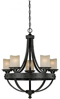 Amazon.com: Vaxcel iluminación H0136 Halifax 3 luz Single ...