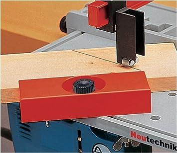 Tope angular para sierra Neutechnik. - Mesa para sierra de calar ...