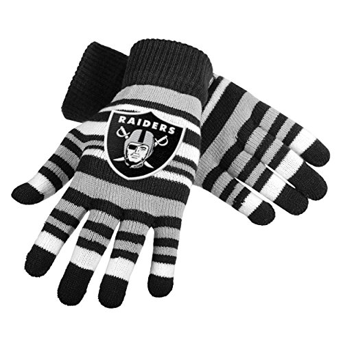 NFL Oakland Raiders Stretch Gloves