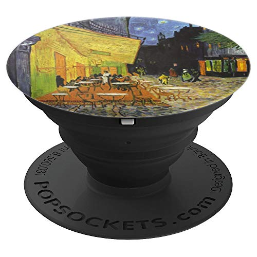 - Cafe Terrace At Night Vincent Van Gogh Art Gift - PopSockets Grip and Stand for Phones and Tablets