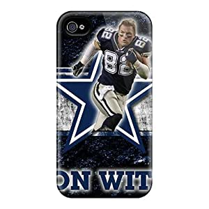 First-class Case Cover For Iphone 4/4s Dual Protection Cover Dallas Cowboys