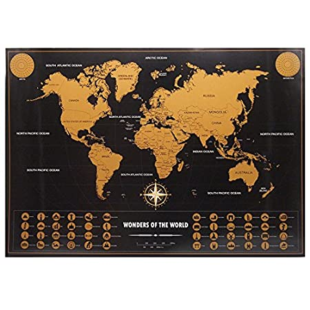 World map personalized vintage travel world map poster sticker world map personalized vintage travel world map poster sticker vacation national geographic retro maps travel map gumiabroncs Images