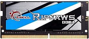 G.SKILL Ripjaws SO-DIMM Series DDR4 2666 PC4-21300 16GB(16GBx1) 260-Pin Laptop Memory Kit Model F4-2666C19S-16GRS