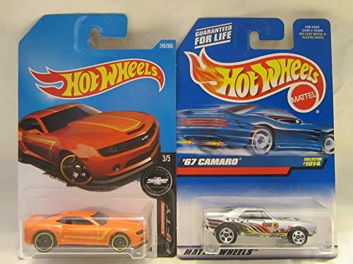 Hot Wheels 2013 Chevy Camaro Special Edition & '67 Camaro #1014 Die Cast 1/64 Scale 2 Car Bundle! (2013 Camaro Hot Wheels Edition For Sale)