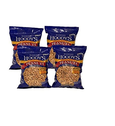 Hoody's In-Shell Classic Roast Peanuts Unsalted-5 lbs / 4 pack by Hoody's