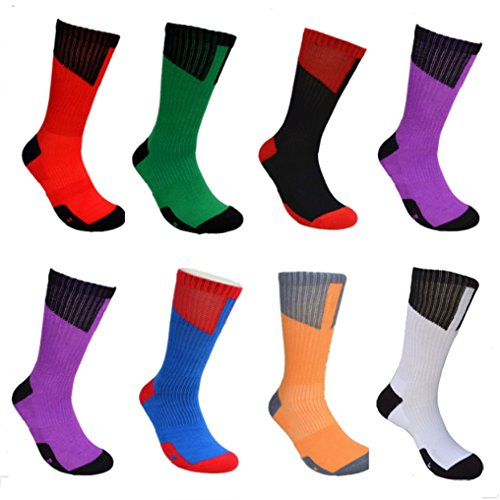 Bulk Dri Fit Elite Socks for Men - Package of 6 Pairs (12 pcs) (Green & Black)