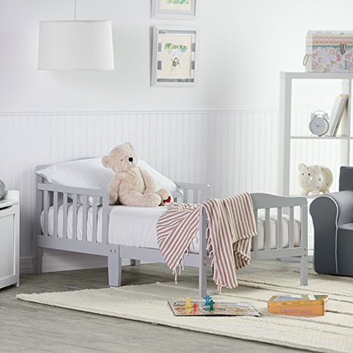 (Orbelle Trading Toddler Bed, Grey)