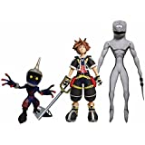 Diamond Select Toys Kingdom Hearts Select: Sora, Dusk, and Soldier Action Figure Set