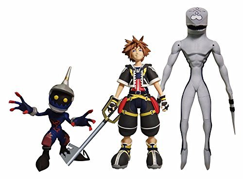 DIAMOND SELECT TOYS Kingdom Hearts Select: Sora, Dusk, & Soldier Action Figure Set