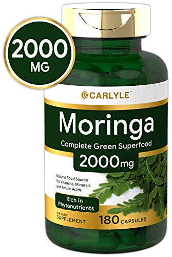 Carlyle Moringa Oleifera 2000 Capsules product image