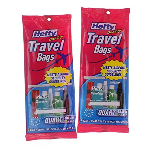 hefty-one-zip-travel-bags-quart-size-clear-14-ct-2-pks-tsa-approved