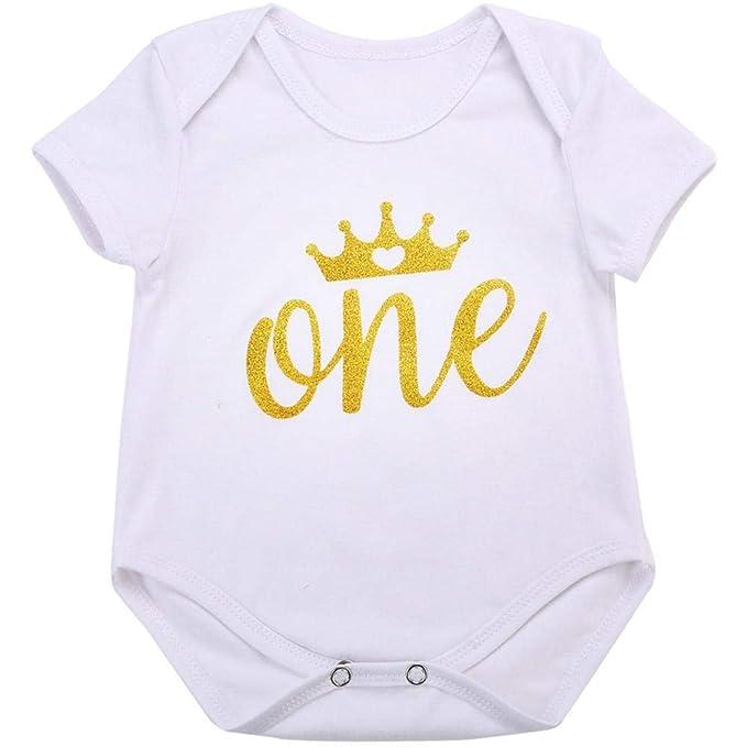 da4adfedb9d1 Amazon.com  HITSAN INCORPORATION 0-24M Baby Girl Clothes Newborn ...