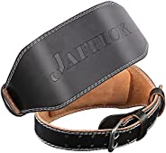 Genuine Leather Weight Lifting Belt for Men Lumbar Back Support Gym Powerlifting Weightlifting Heavy Duty Work