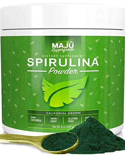 MAJU's Spirulina Powder, Microcystin...