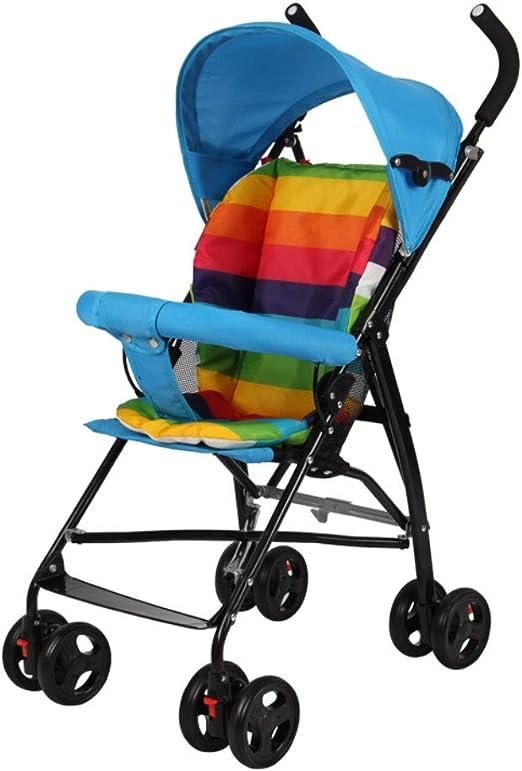 Carritos y sillas de Paseo Cochecito de bebé, Portátil Ligero ...