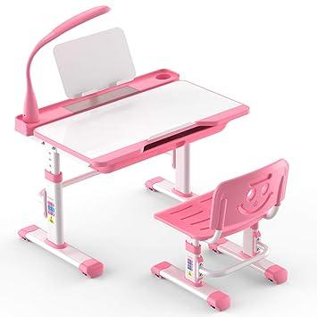 Xiaoyan Juego de mesa y silla para niños, escritorio y silla de ...