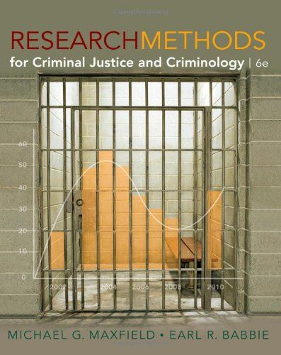 Research Methods for Criminal Justice and Criminology,...