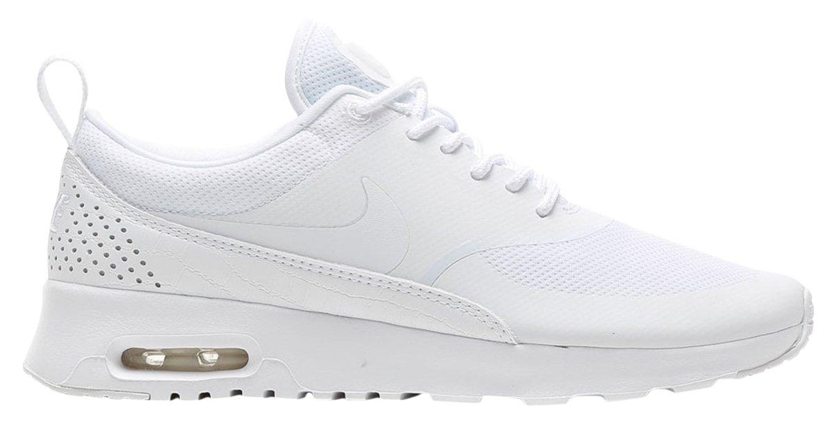 NIKE Women's Air Max Thea Low-Top Sneakers, Black B01F2M3X72 8.5 B(M) US|White/White/White