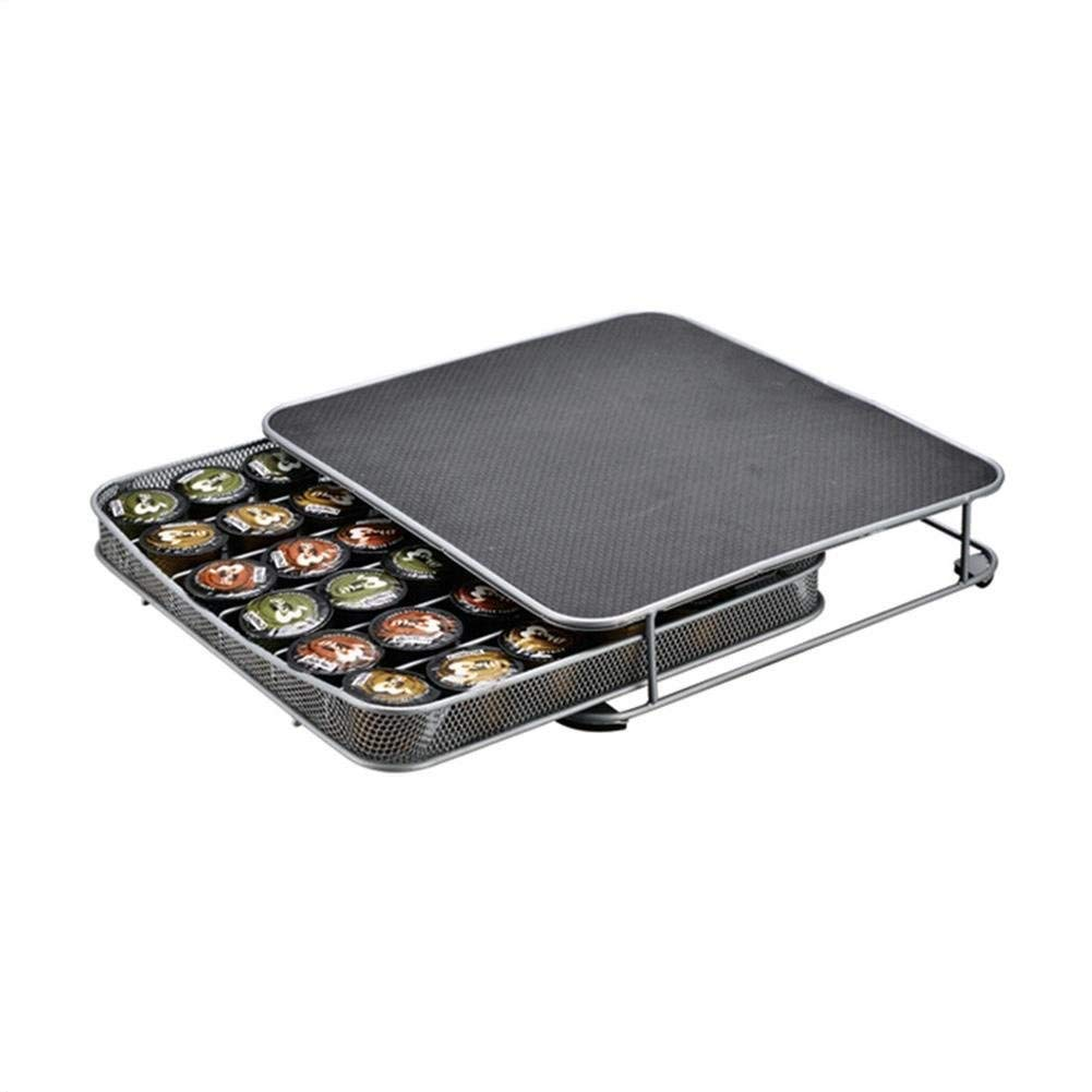 Tassimo pod holder,Coffee pod holders,Dolce Gusto Pod Holder Coffee Machine Metal Capsule Storage Drawer for 36 Pcs Bac bac