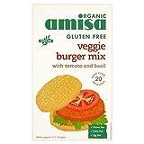 Amisa Organic Gluten Free Veggie Burger Mix 140g - Pack of 6