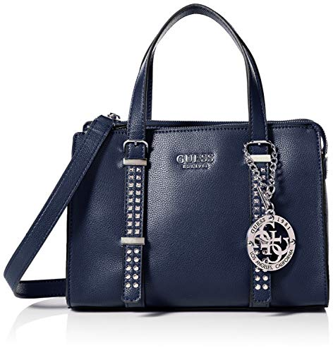 GUESS Eileen Midnight Small Status Satchel
