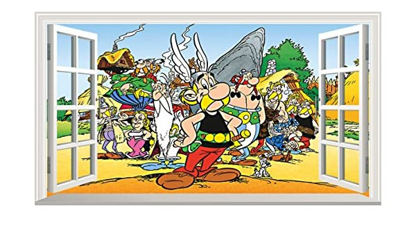 Chicbanners Asterix and Obelix V001 - Adhesivo para Pared ...