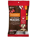 Instinct Freeze Dried Raw Boost Mixers Grain Free All Natural Beef Recipe Dog Food Topper by Nature's Variety, 1 oz. Trial Size Bag (Case of 32)