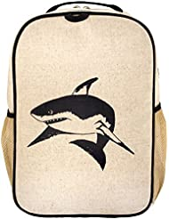 SoYoung Grade School Backpack-Black Shark