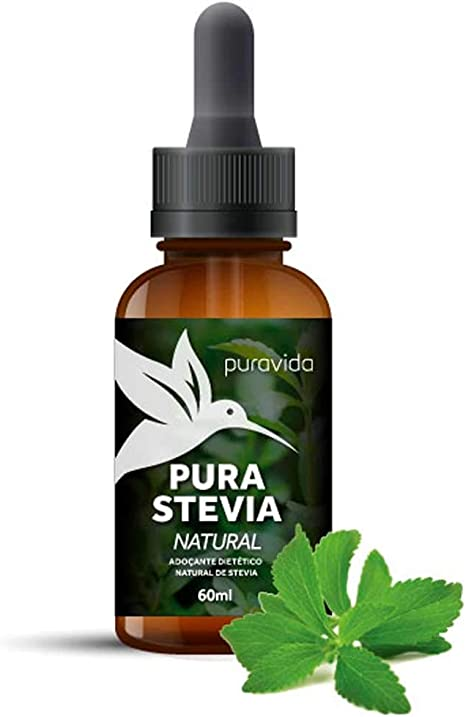 Adoçante Líquido Pura Stevia Puravida 60ml