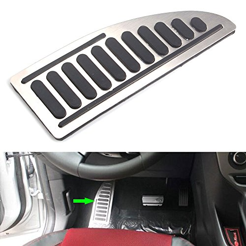 Buildent Auto Foot Rest Pedal Pad Anti-skid Styling Car Accessories For Ford Focus MK2 MK3 Fiesta MK7 Mondeo MK4 S-Max C-Max Escape Kuga by Buildent