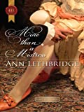 More Than a Mistress (Rakes in Disgrace Book 2)