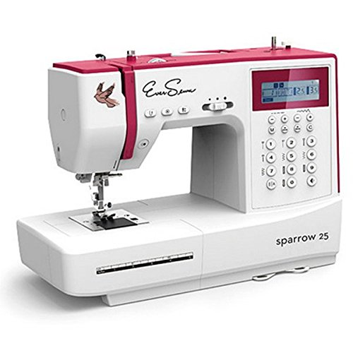 Eversewn - Sparrow 25 -197 Stitch Computerized Sewing Machine Plus Eversewn Bobbins & 6 piece Accessory Foot Kit