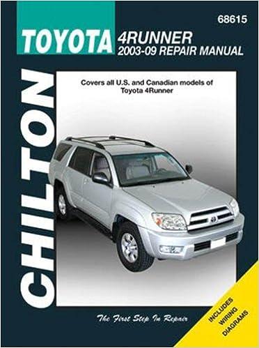 Toyota 4Runner, 2003 - 2009 (Chilton Automotive Books): Chilton