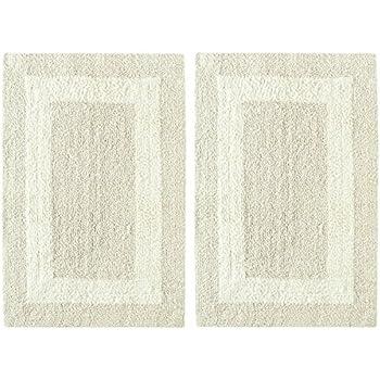 Amazon Com Reversible 100 Long Staple Cotton Tufted 2