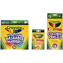 Crayola Core Pack for Back to School - Grades 3-5