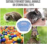 RUCKO Small Animal Playpen, Portable Transparent
