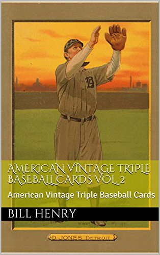 (American Vintage Triple Baseball Cards Vol. 2: American Vintage Triple Baseball Cards)