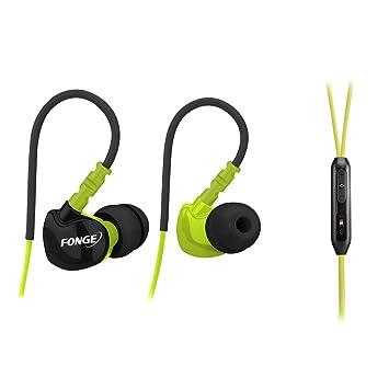 PANMARI KZ F1 resistente al agua de los deportes de auriculares para correr sumergible IPX5 in