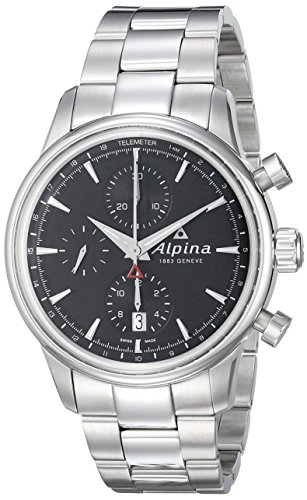 Alpina-Mens-AL-750B4E6B-Alpiner-Chronograph-Analog-Display-Automatic-Self-Wind-Silver-Watch