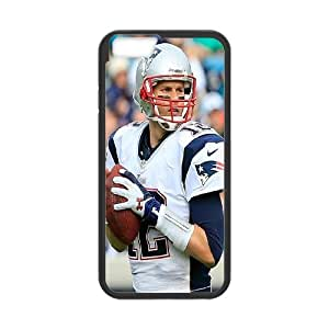 "Unique Phone Case Pattern 3New England Patriots Tom Brady #12 - For Apple Iphone 6,4.7"" screen Cases"
