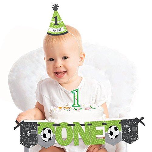 Big Dot of Happiness GOAAAL! - Soccer - 1st Birthday Boy or