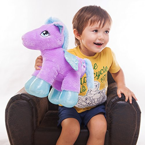 Wewill 30 Minute Timer Led Stuffed Animal Baby Pegasus The Unicorn