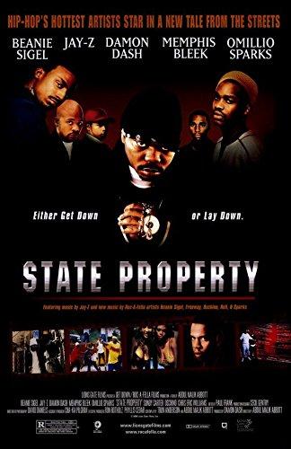 State Property Poster Movie Beanie Sigel Omillio Sparks Memphis Bleek Damon Dash