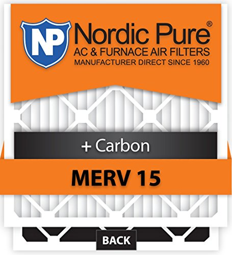 Pure 20x25x5HM15+C-1 Honeywell Replacement MERV 15 Plus Carbon AC Furnace Air Filters, Qty 1 [並行輸入品]