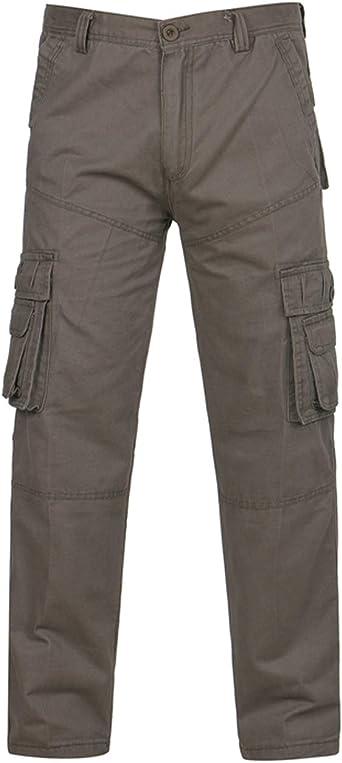 pantalon cargo taille ultra basse homme
