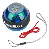 YANGHX Wrist Power Force Ball Arm Exercise Gyroscope with LED Lighting & Speed Meter For Sale