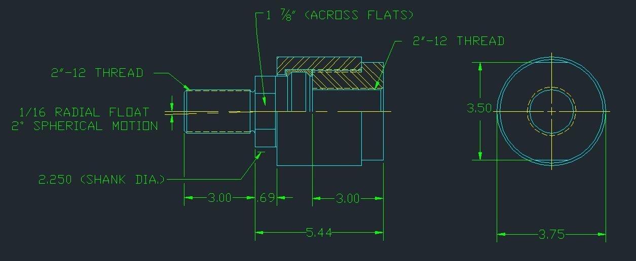 Aggressive Hydraulics BD-2000F Alignment Coupler by Aggressive Hydraulics