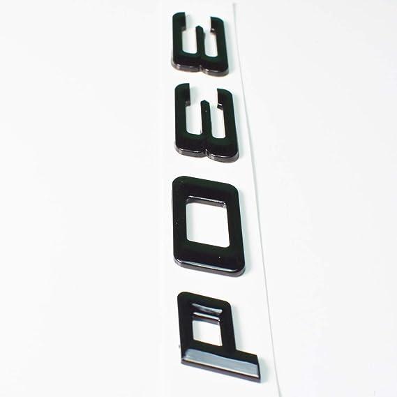 CTRONIC 330d schwarz gl/änzend Hecklogo hinten Emblem Tuning f/ür E90 E91 E92 E93 F30 F31 F32 F33 F34 HB3R1